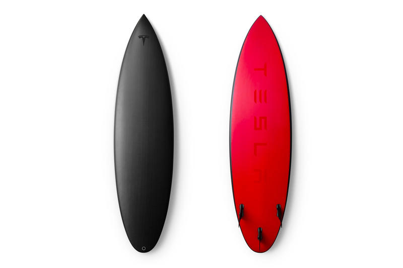 Tesla Limited Edition Surfboards elon musk price purchase release date