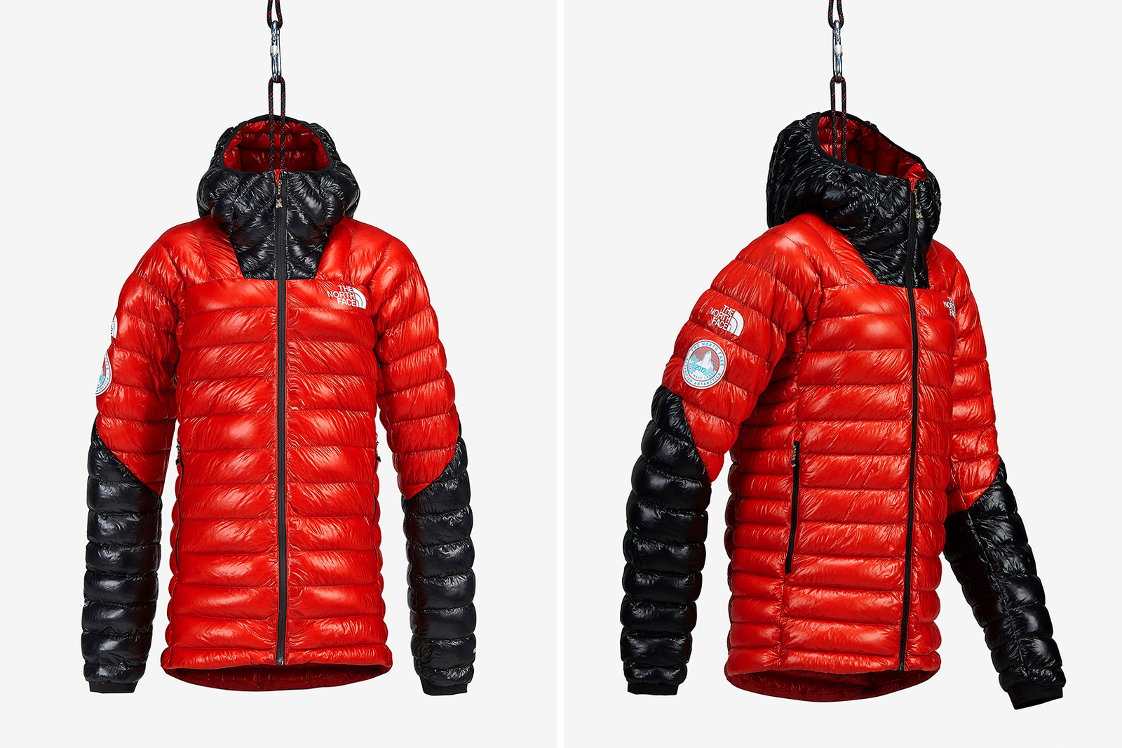 The North Face Pinnacle Archive Alps Pop-up Climbing Italy restored refurbished collection