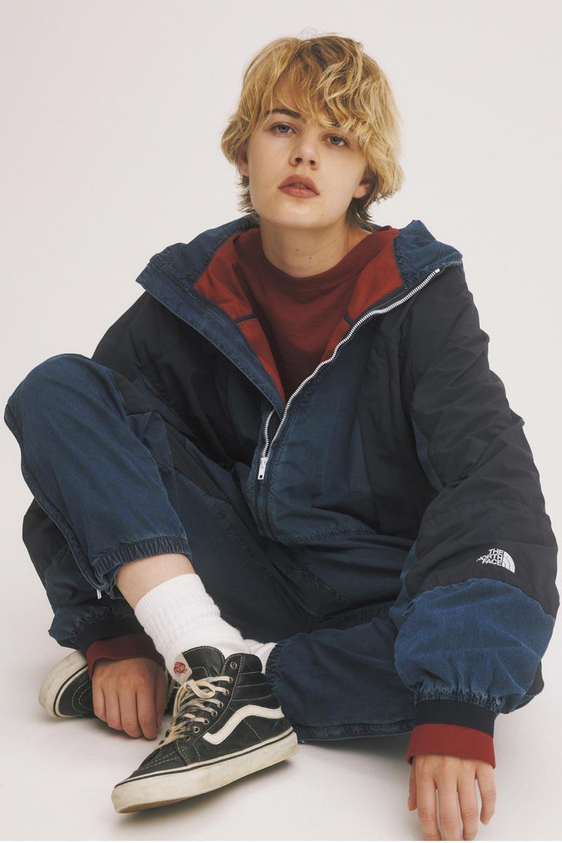 THE NORTH FACE PURPLE LABEL Fall Winter 2018 Lookbook Jackets Outerwear Hoodies Sweaters Pants Trousers Cardigans Scarves Hats Caps