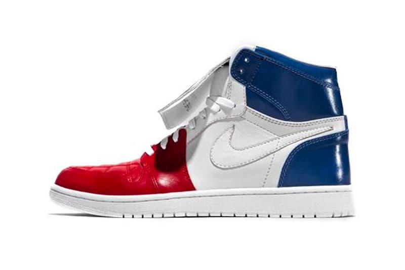 The Shoe Surgeon France World Cup AJ1 Tiempo custom air jordan 1 jordan brand Nike Tiempo '94 soccer football release info
