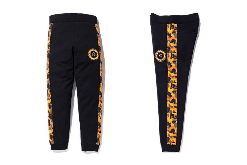 the weeknd a bathing ape bape x xo sweatpants