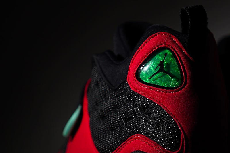 Tinker Hatfield Alternate Air Jordan 13 OG Bred colorway black and red sneaker first look release date availability