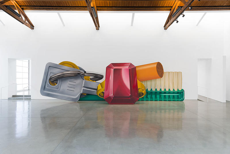 tom wesselman still lifes paintings gagosian beverly hills exhibition artworks
