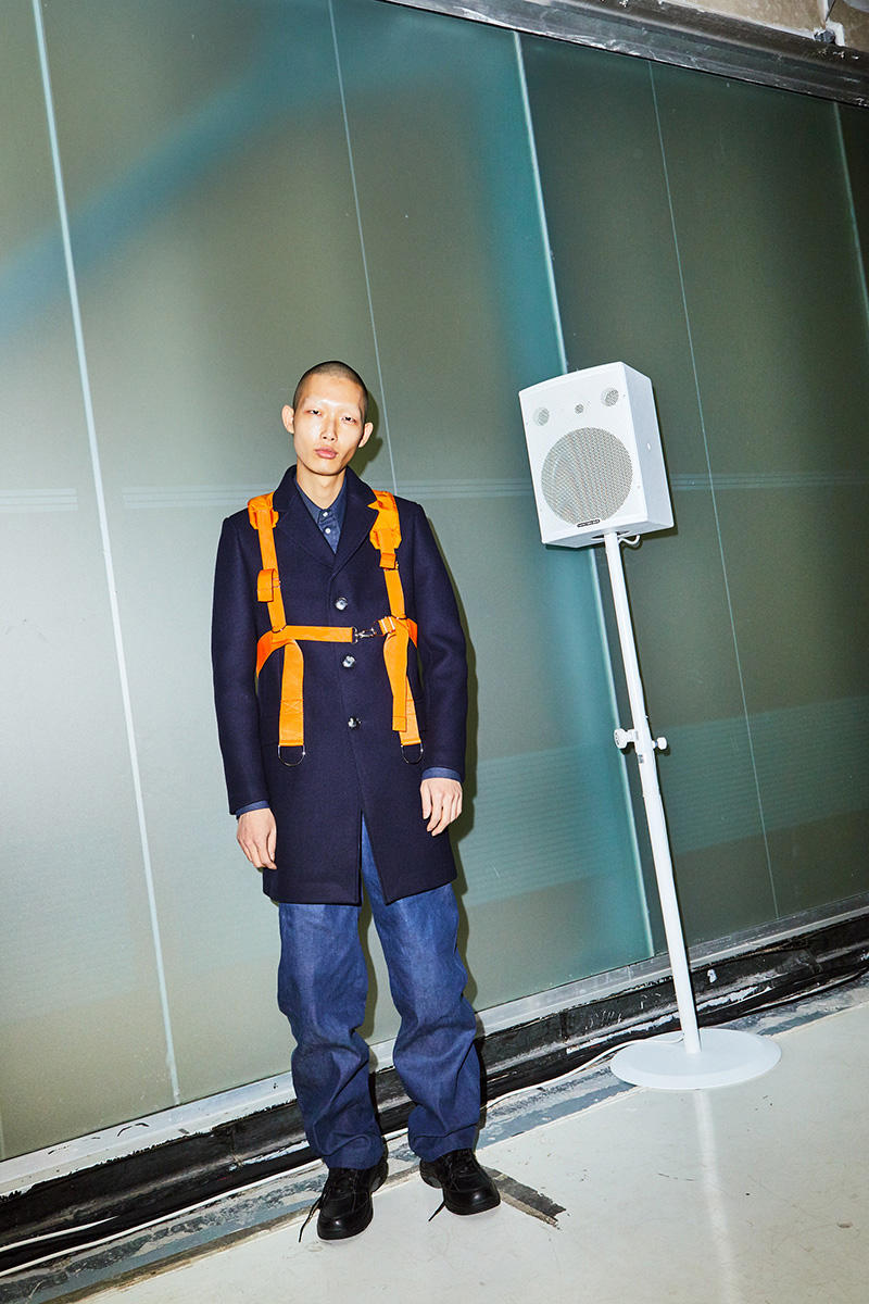 Tonsure Fall/Winter 2018 Campaign Clothing Fashion