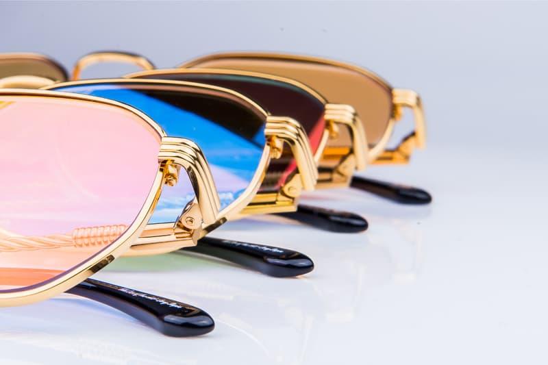 vintage frames luxury sunglasses glasses frames 18kt karat gold signature series tory lanez