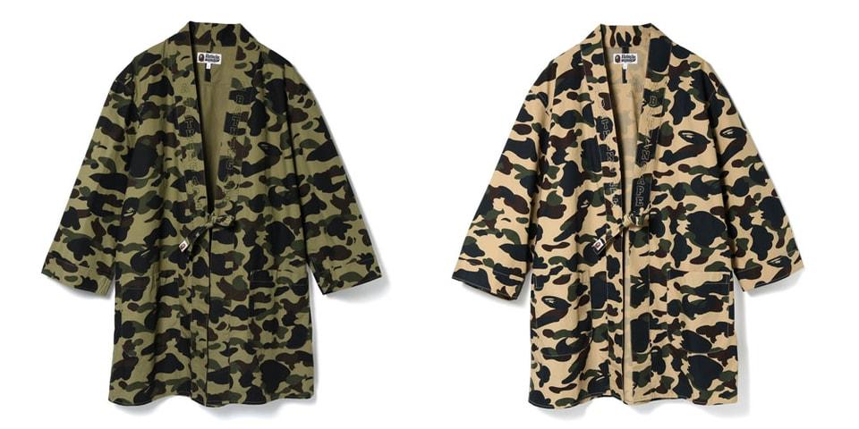 3c0ed39e6 BAPE 1ST CAMO Kimono Long Shirts | HYPEBEAST