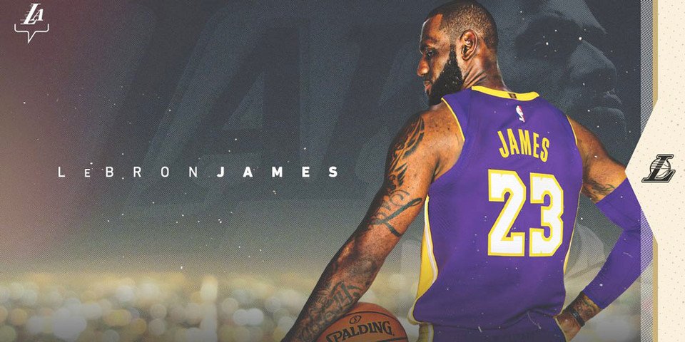Lebron James 2018 Lakers: LeBron James Officially Signs With The Lakers