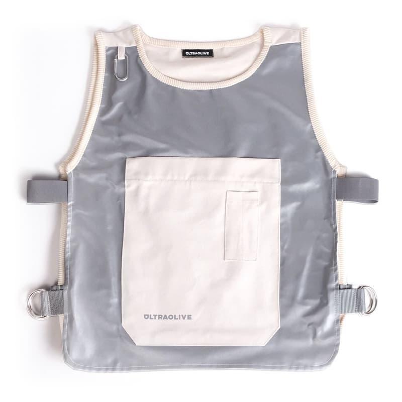 ULTRAOLIVE ULTRA_Experiments 03: Sketchbook Vest Buy Release Reflective