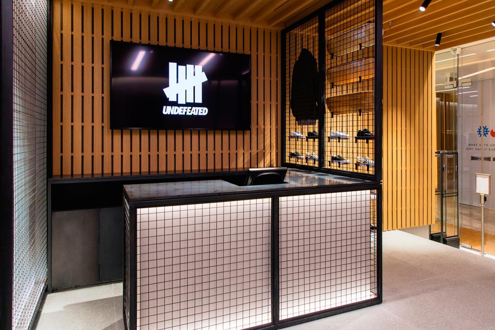 James Bond UNDEFEATED Hong Kong Store Interview bape a bathing ape Purple Nike Zoom Kobe 1 Protro Friends & Family