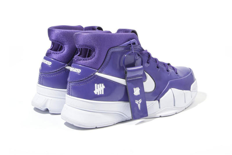 undefeated nike zoom kobe 1 protro purple hong kong store release patent leather white exclusive unreleased