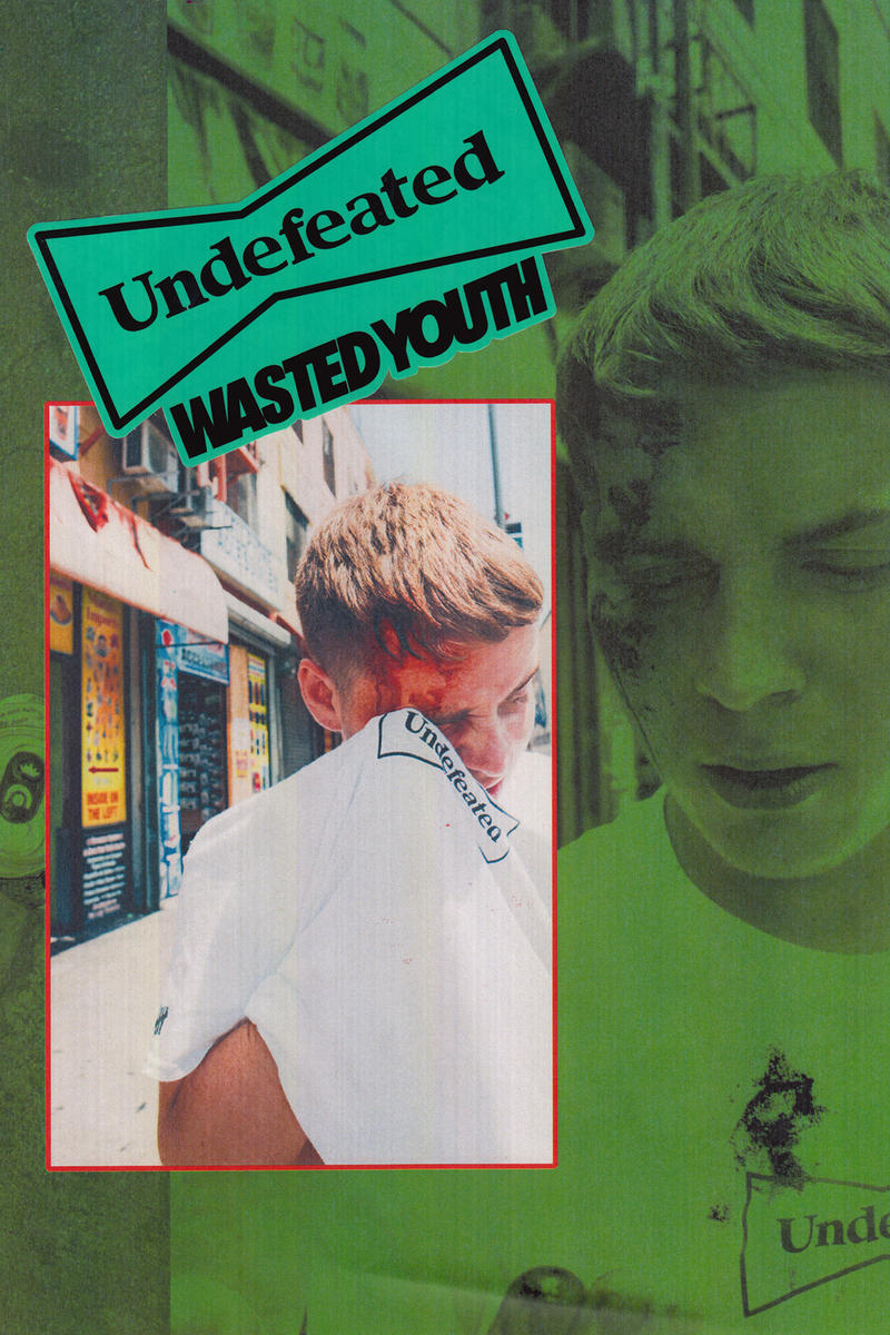 undefeated wasted youth verdy collaboration lookbook harajuku meiji dori store opening july 14 2018 japan exclusive tee shirt hoodie sticker pillowcase