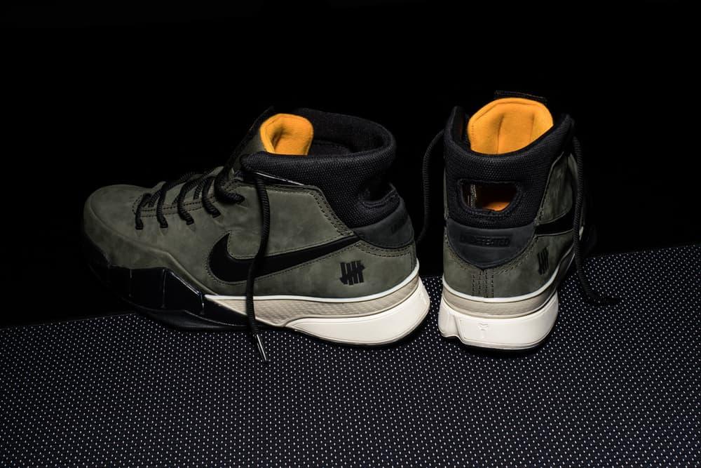 UNDEFEATED Nike Zoom Kobe Protro 1 Friends Family Kobe Bryant La Lakers harajuku japan store raffle basketball game 10 pairs july 14 2018 give away