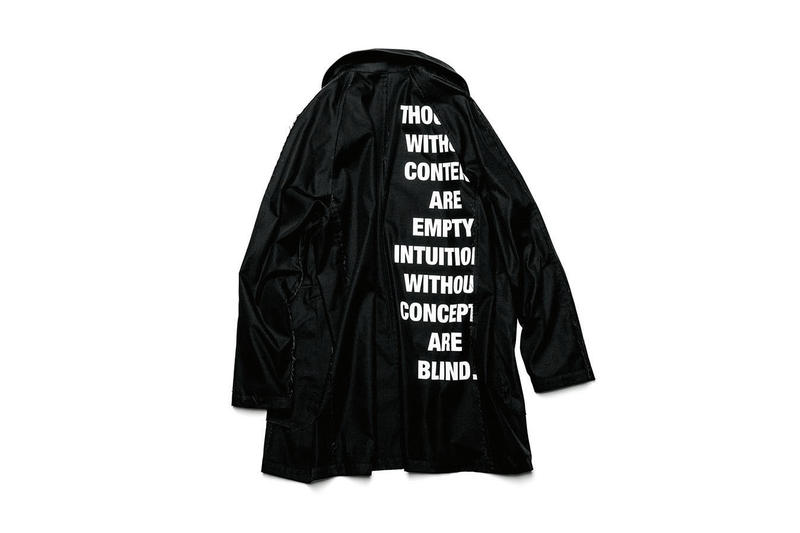 SOPHNET. Uniform Experiment Fall/Winter 2018 Drop Collection Available Purchase Buy Cop Now Fashion Clothing For Sale