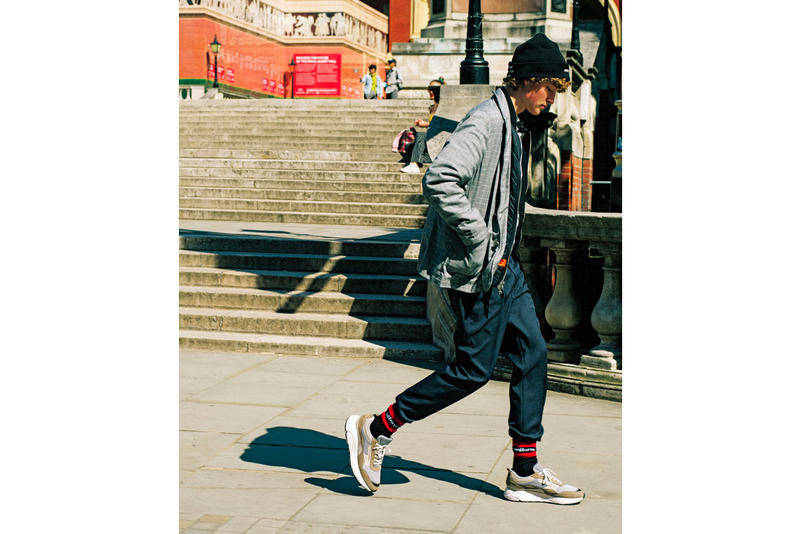 uniform experiment Fall Winter 2018 Lookbook collection outerwear accessories shirts sneakers