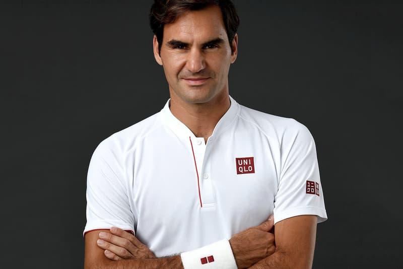 Uniqlo Roger Federer Global Brand Ambassador Tennis Nike Sports Uniqlo RF Lifewear Wimbledon