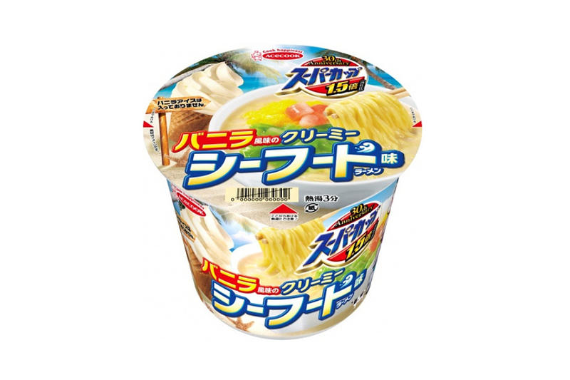 Acecook Vanilla Creamy Seafood Super Cup 1.5 Bai Instant Noodle Japanese Cup Noodle