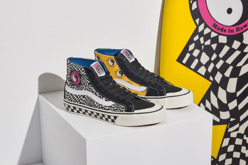 800f008f3674 Vans T C Surf collection collaboration Sk8-Hi Authentic Release Details  Footwear Shoes Trainers Kicks Sneakers