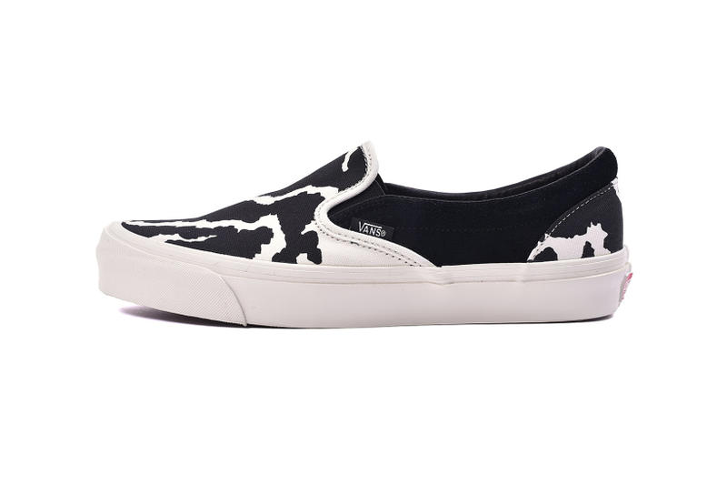 vans vault cow leopard pack authentic slip on footwear shoes sneakers