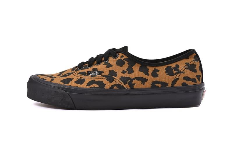 vans vault cow leopard pack authentic slip on footwear shoes sneakers 6a7141dc4