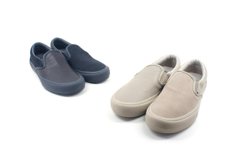 Vans Vault Engineered Garments Classic Slip On LX Release Details Footwear Shoes Trainers Kicks Sneakers Available Cop Purchase Buy Now July 6