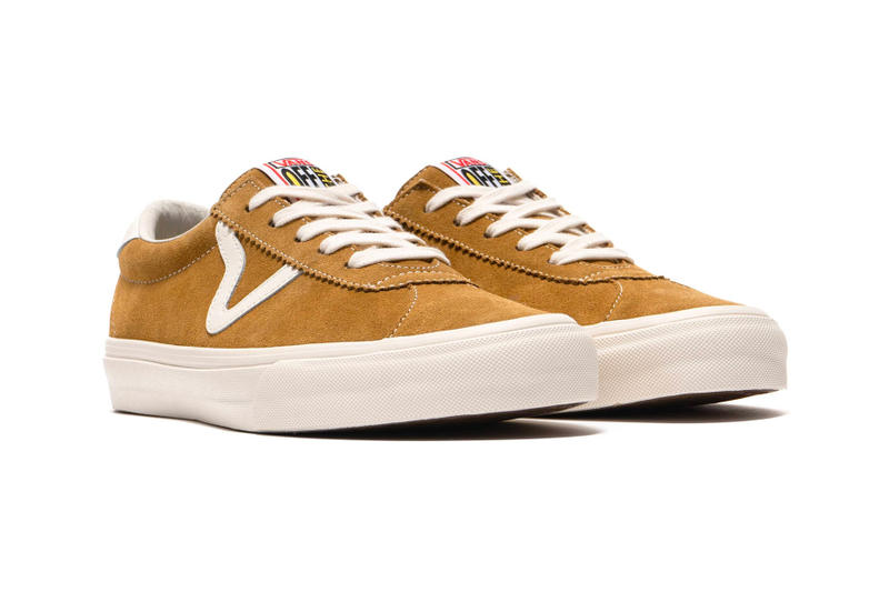 85526147dc1 Vans Vault Epoch Sport Model Revival Marshmallow Cumin Black LX Suede White  Yellow Brown