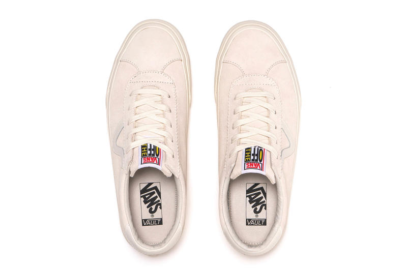 Vans Vault Epoch Sport Model Revival Marshmallow Cumin Black LX Suede White Yellow Brown