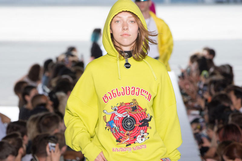 Vetements Hoodie Augmented Reality Capable AR Cartoon Tech Apparel function phone