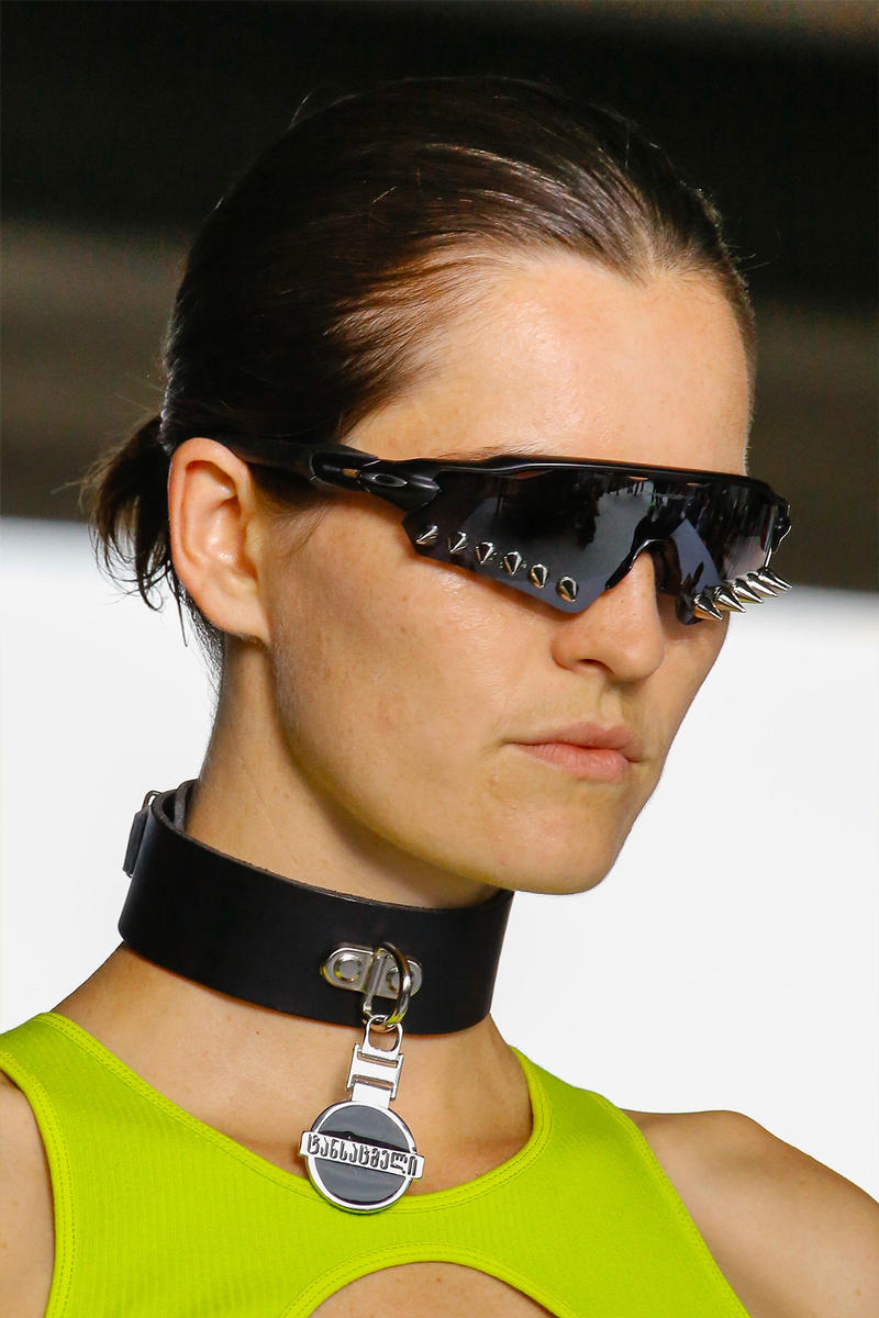 e7535431341e0 Vetements reebok sneakers spring summer 2019 oakley sunglasses accessories  spiked demna gvasalia paris couture week dad