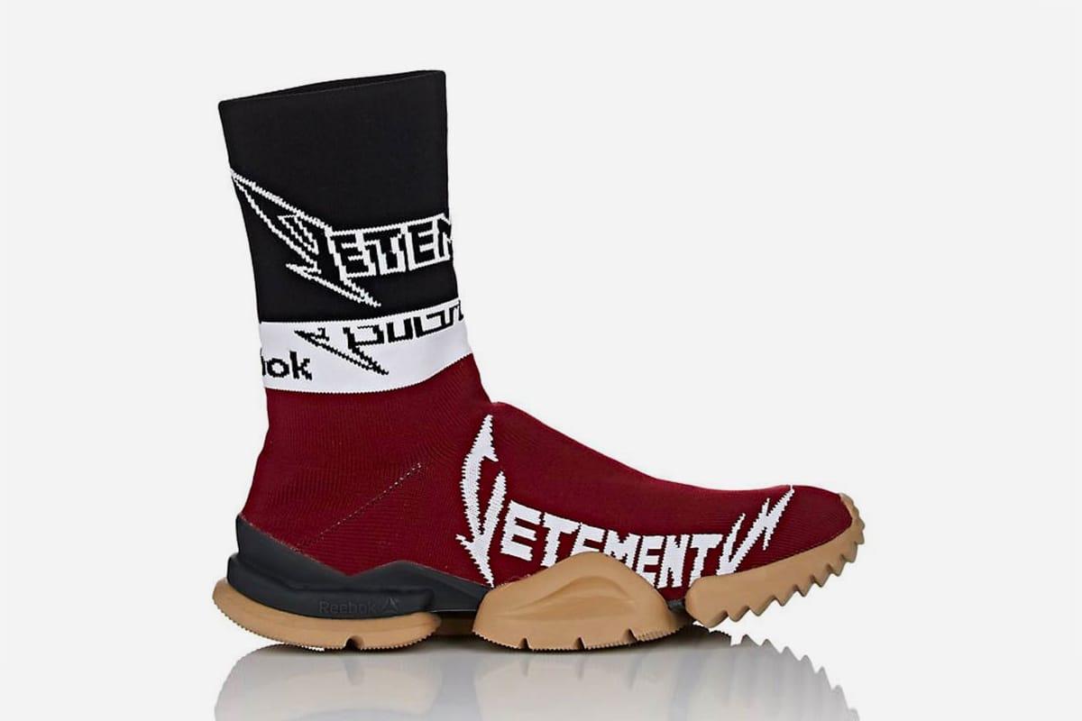 Vetements x Reebok Sock Runner New