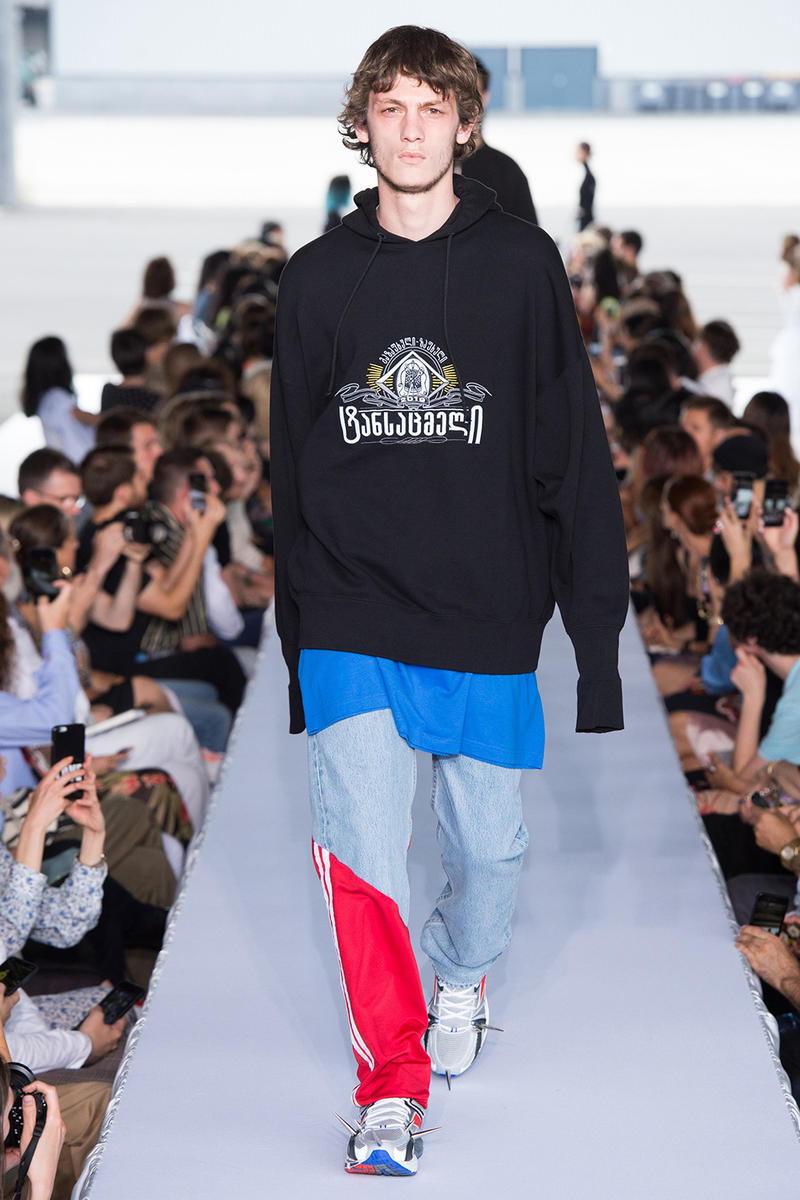 Vetements Spring Summer 2019 Collection demna gvasalia paris couture 2018