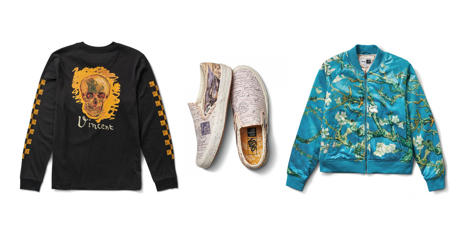 096729e5a413b6 Vincent Van Gogh x Vans Collaboration Collection