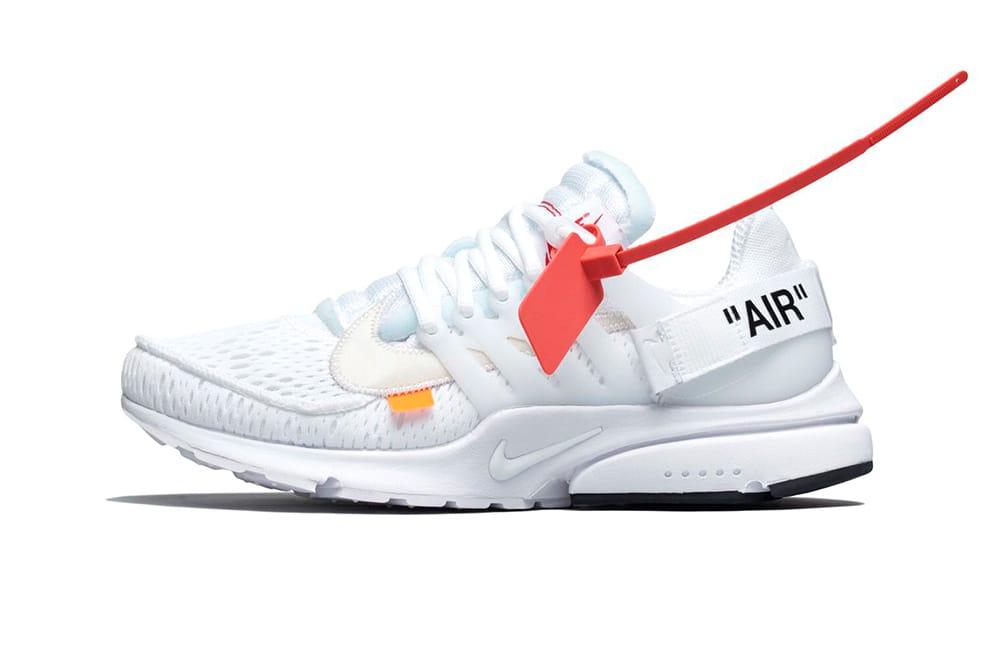 Virgil x Nike Presto Black/White