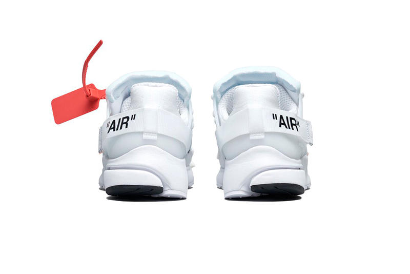 Virgil Abloh Nike Air Presto All Black White Official Look Release Date