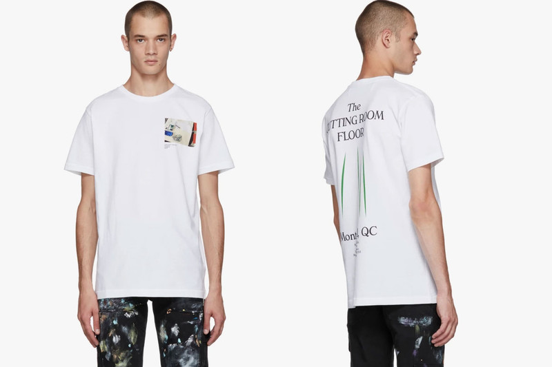 """the latest 82108 649ef Earlier this month, Virgil Abloh and SSENSE teamed up on an exhibition  entitled """"CUTTING ROOM FLOOR."""" Abloh s personal studio in Chicago was  recreated at ..."""