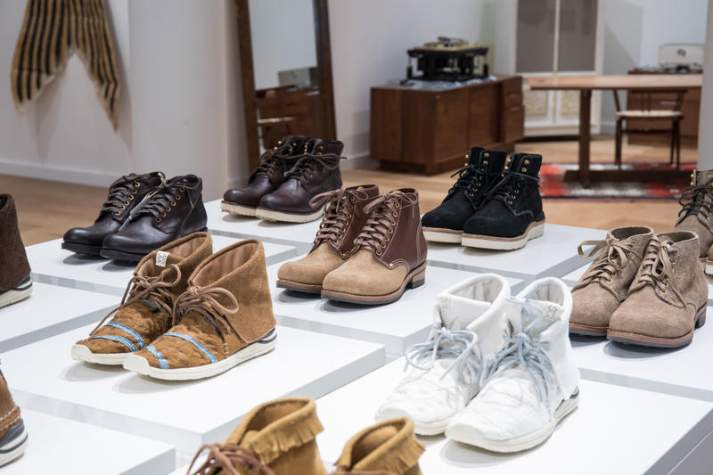 visvim japan exposition los angeles retail store contrary dept. F.I.L.
