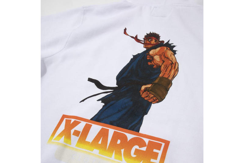 XLARGE Street Fighter Alpha Capsule Collection Evil Ryu Akuma Cammy Sakura Capcom