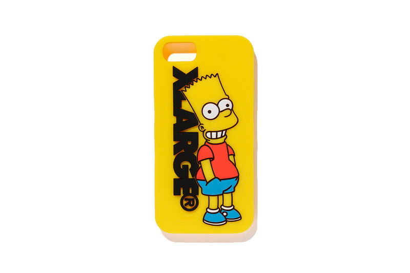 XLARGE x The Simpsons 2018 Collection Tee Shirt Shorts iPhone Case Cop Purchase Buy Available Now Collab Collaboration
