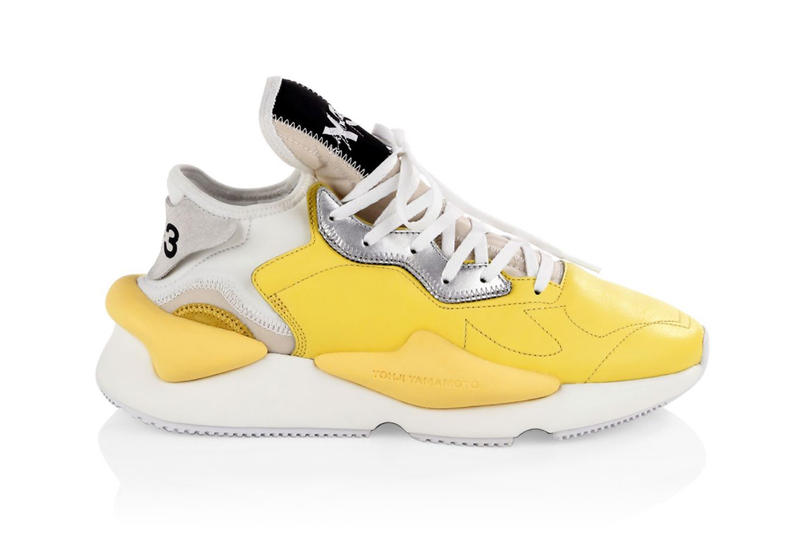 1856e06c2adf9 Y-3 Kaiwa Sneakers in Yellow Dad Shoes Yohji Yamamoto chunky runner white  july 2018