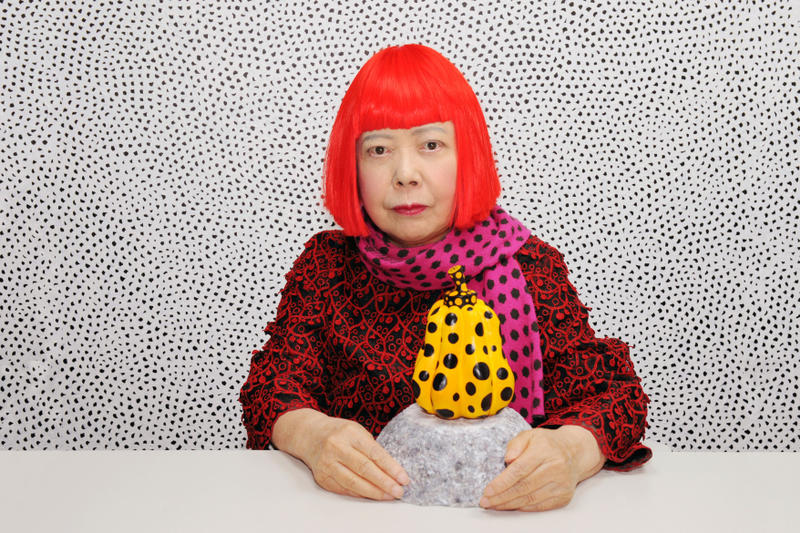 Yayoi Kusama Large Infinity Mirror Room Victoria Miro London Art Arts Exhibit Exhibition Exhibitions Show New Paintings Sculptures