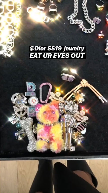 Yoon Ahn dior men Spring Summer 2019 Jewelry Collection Closer First Look kim jones kaws collaboration silver gold rings necklaces matthew m williams buckle rollercoaster belt menswear bff collection