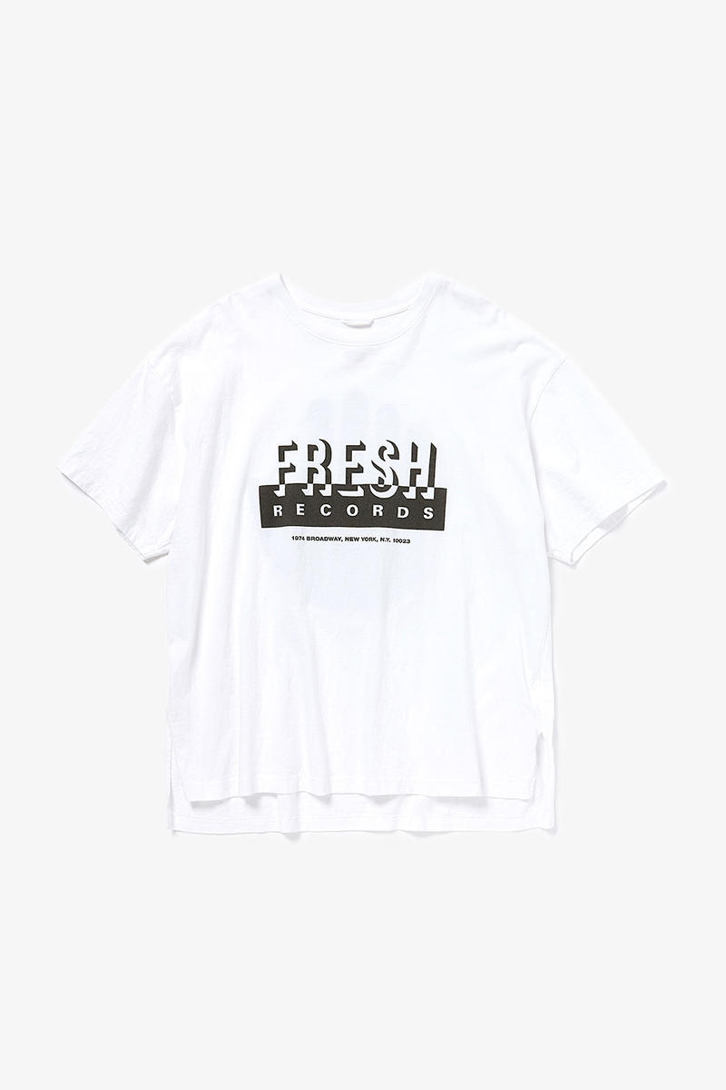 "YSTRDY'S TMRRW fresh records collection collaboration compilation cd tee shirts long short sleeve logo Just-Ice - Freedom of Speech '88 2. Just-Ice feat. KRS-One - Going Way Back 3. MC EZ & Troup - Get Retarded 4. Just-Ice - Cold Gettin' Dumb 5. T La Rock - Breakdown 6. King Doe-V - Shamalama (12"" Version) 7. MC EZ & Troup - Just Rhymin' 8. Stezo - It's My Turn 9. Hanson & Davis - I'll Take You On (Larry Levan Dub Version) 10. Hanson & Davis - Can't Stop (Piano Dub) 11. The Todd Terry Project - Bango 12. El Barrio - Across 110th Street (Barrio Mix) 13. Chandra Simmons Never Gonna' Let You Go (Radio Version)"