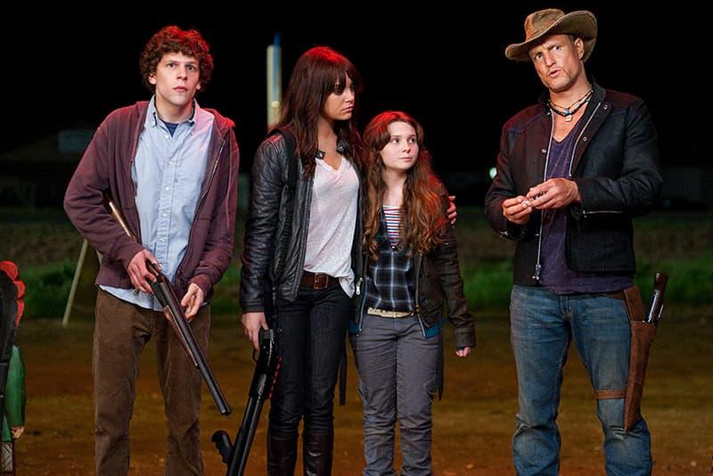 Zombieland Zombieland 2 Sequel Jesse Eisenberg Woody Harrelson Emma Stone Abigail Breslin Ruben Fleischer