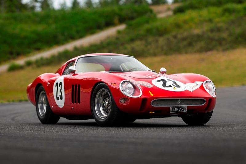 1962 Ferrari 250 GTO Auction RM Sothebys $48 Million USD Most Expensive Car Valuable Car Luxury Vehicles