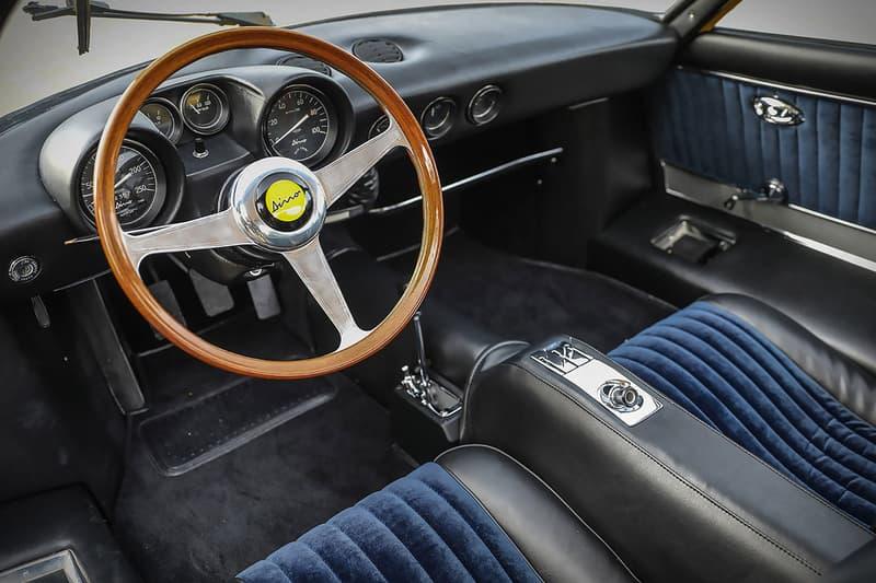 Ferrari Dino 206 Berlinetta GT Prototype Auction Unique 206 1-of-1 Sale Gooding & Company