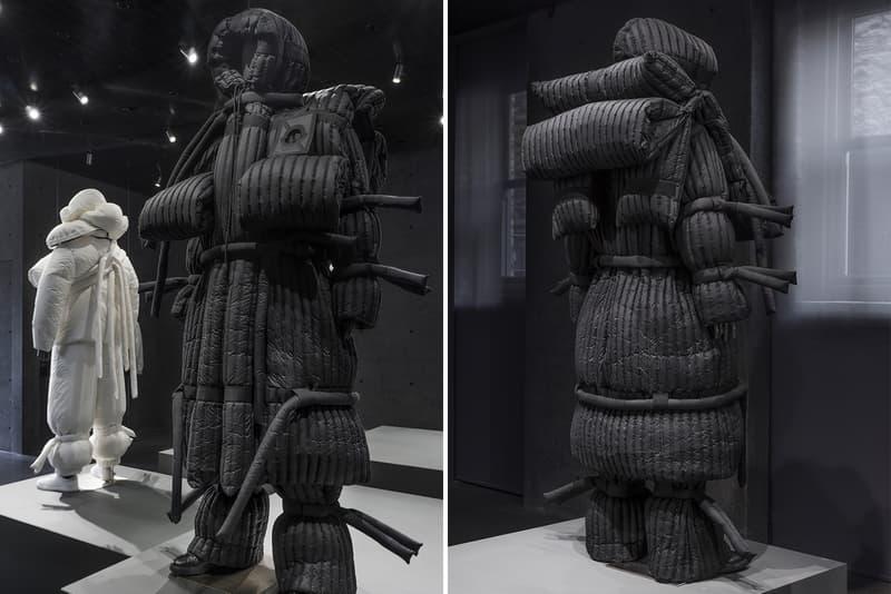 SSENSE 5 Moncler Craig Green Collection Exhibit Moncler Genius installation art fashion coats outerwear