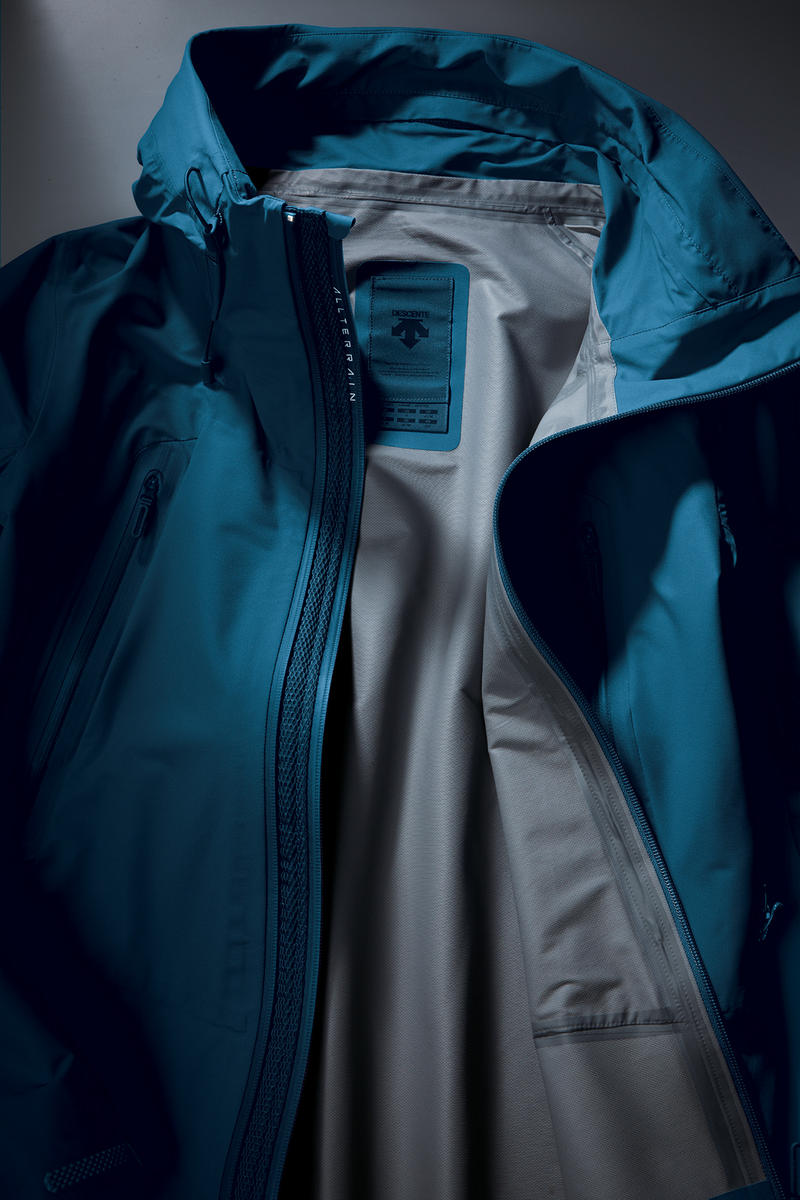 Descente ALLTERRAIN japan lookbook fall winter 2018 collection outerwear jackets mizusawa down