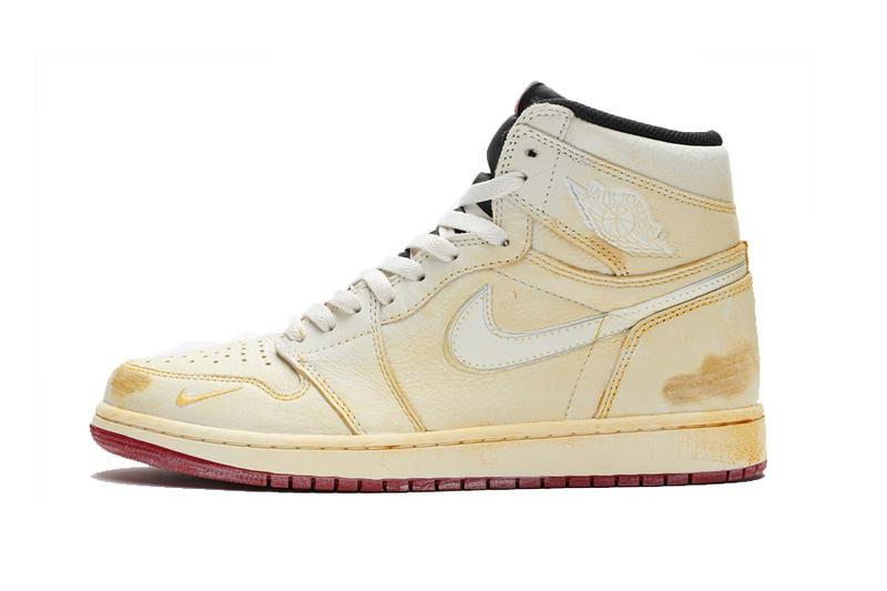 de7845e8804188 Nigel Sylvester x Air Jordan 1 Hi OG NRG shoe sneaker white yellow orange  release date