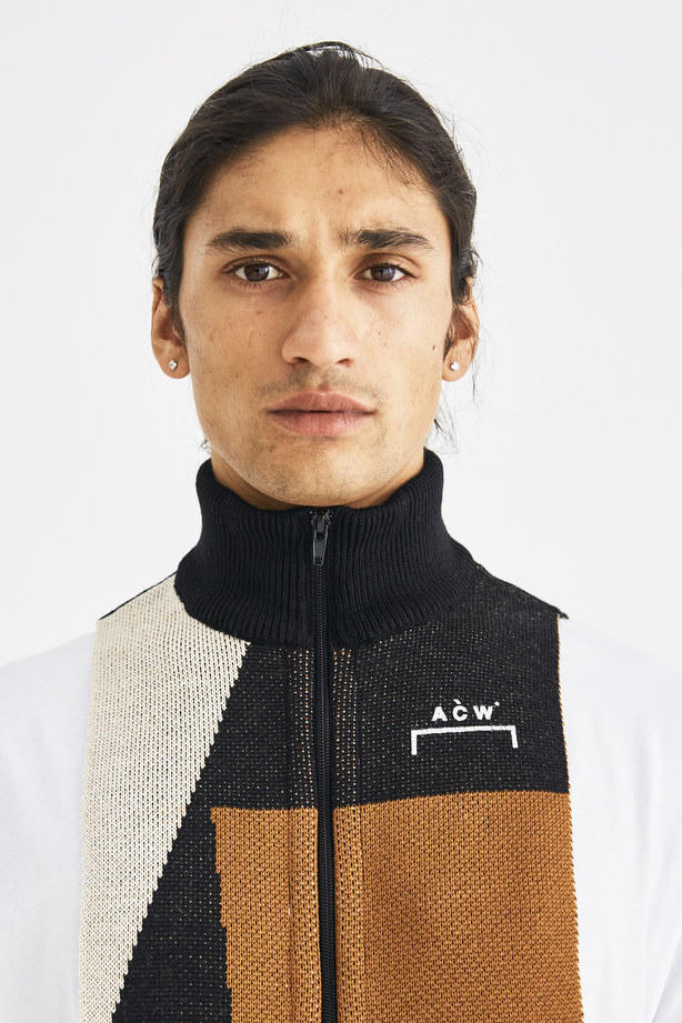 A-COLD-WALL* Fall Winter 2018 Zip Panel Scarf accessories samuel ross
