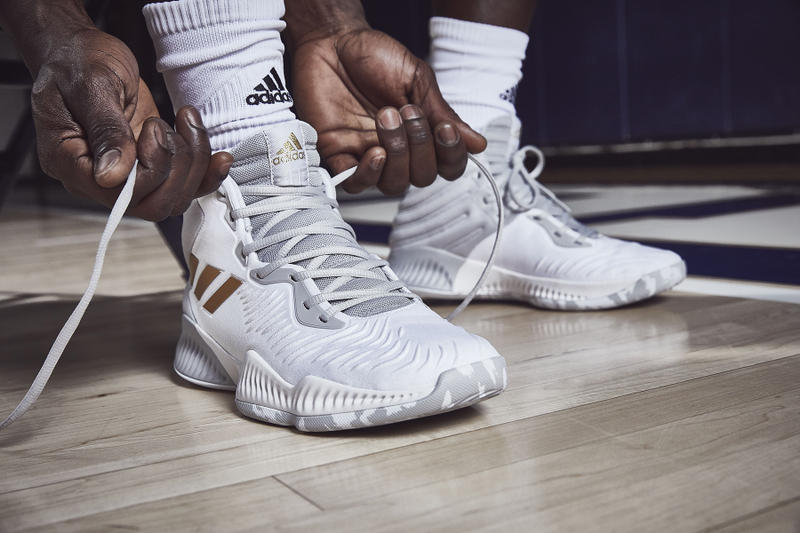 a4c9a94019c adidas basketball pro bounce mad bounce footwear october 2018 Donovan  Mitchell Zach LaVine Kristaps Porzingis Chiney
