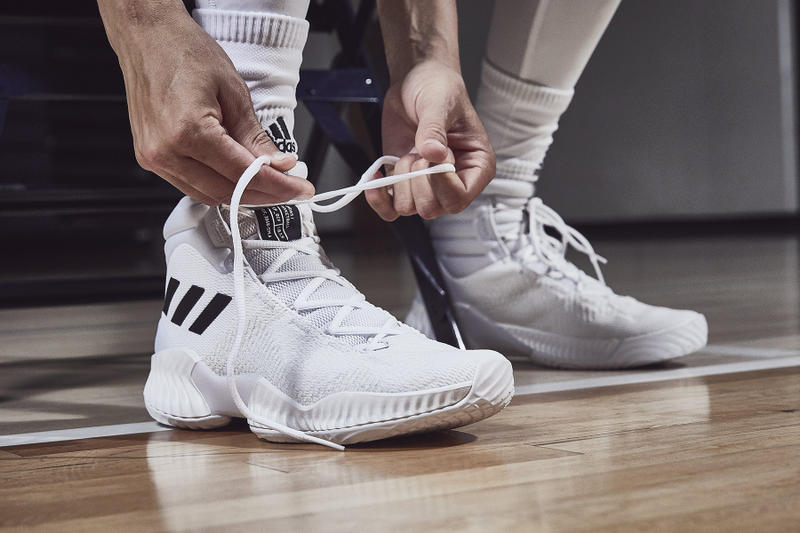 adidas basketball pro bounce mad bounce footwear october 2018 Donovan Mitchell Zach LaVine Kristaps Porzingis Chiney Ogwumike Candace Parker Kyle Lowry Nick Young Jaylen Brown Kelly Oubre Jr.